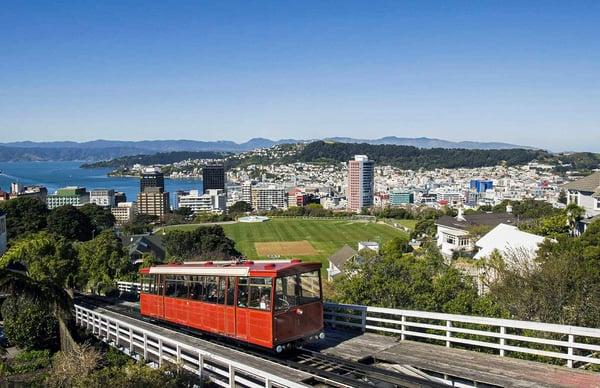 Cable Car Gardens - Wellington, New Zealand