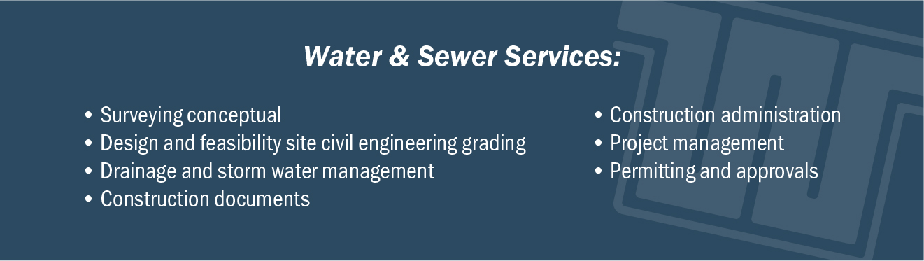 Water and Sewer Services